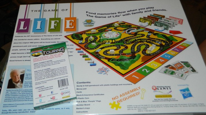 Family Fun With The Game Of Life Touring Saralees Deals Steals