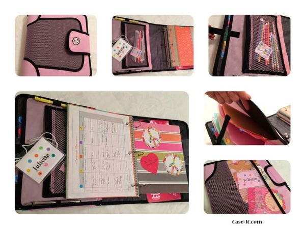 case it customized binder