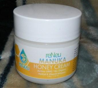reNeu Manuka Honey Cream Healing Moisturizer Skin Care