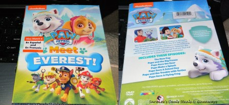Paw Patrol: Meet Everest! DVD