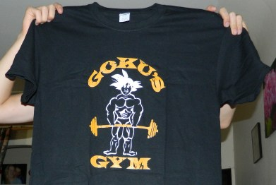 Goku's Gym DragonBall Z T-Shirt