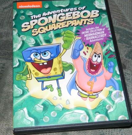 Spongebob Squarepants: Adventures of Spongebob DVD