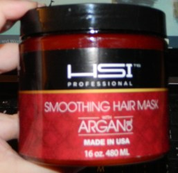 HSI Professional: Smoothing Hair Mask with Argan Oil