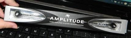 Sentey In-ear Earbuds Earphones Headphones Amplitude X360