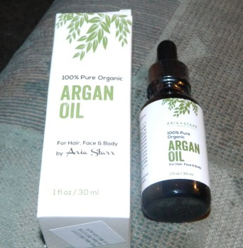 Aria Starr Beauty: Organic Argan Oil 1oz