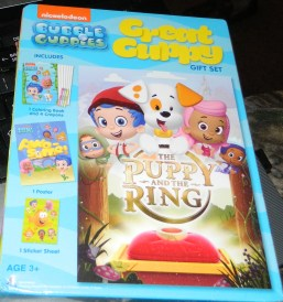 Bubble Guppies: The Puppy and the Ring - Great Guppy Gift Set