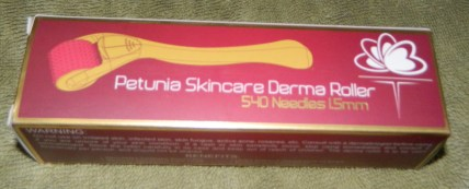 Petunia Skincare 1.5mm 540 Needles Derma Roller