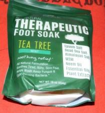 Tea Tree Oil Foot Soak with MSM, Neem & Epsom Salt 16oz