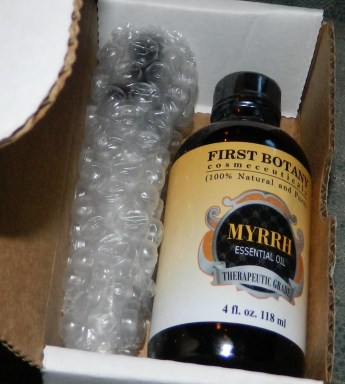 First Botany Myrrh Essential Oil 4oz. With a Glass Dropper