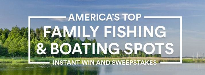 Take Me Fishing - America's Top Family Fishing & Boating Spots Instant Win & Sweepstakes