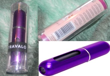 Travalo Classic Original Refillable Perfume Spray Atomizer Purple 5ml