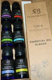 Essential Oil Blends for Aromatherapy - Best 6 blend set