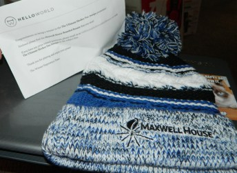 Maxwell House branded beanie