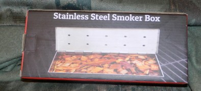 Smoker Box for BBQ Grill Wood Chips