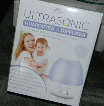 Cool Mist Ultrasonic Humidifier w/ Aroma Essential Oil Diffuser