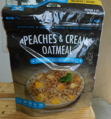 Bannock Peaches & Cream Oatmeal