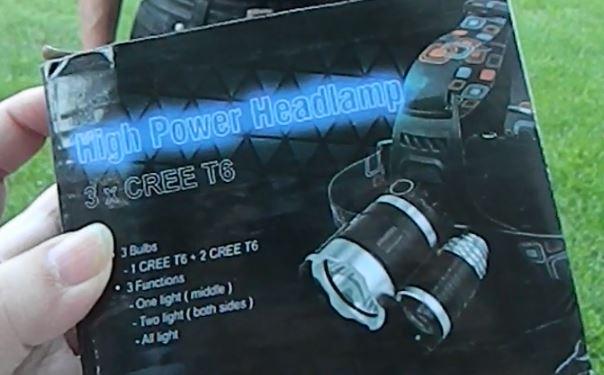 I-Mate 3T6 Bright Headlight Headlamp