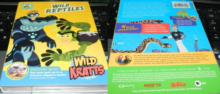 Wild Kratts: Wild Reptiles DVD
