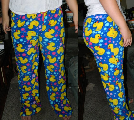Just Love Women's Plush Pajama Pants - Ducky Bubble
