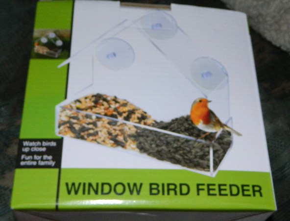 Multi-Brand: Clear Window Bird Feeder with One-Way Mirror