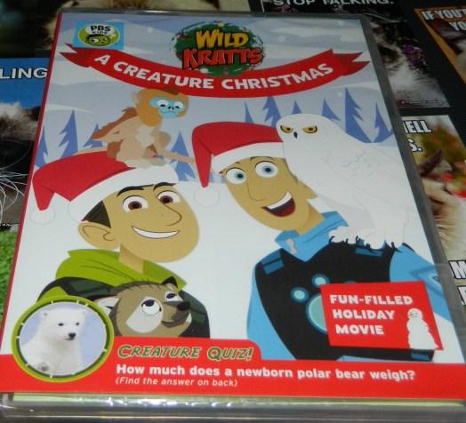 Wild Kratts: A Creature Christmas DVD