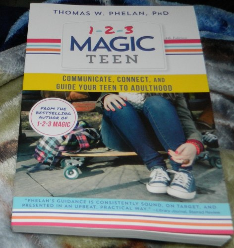 1-2-3 Magic Teen book