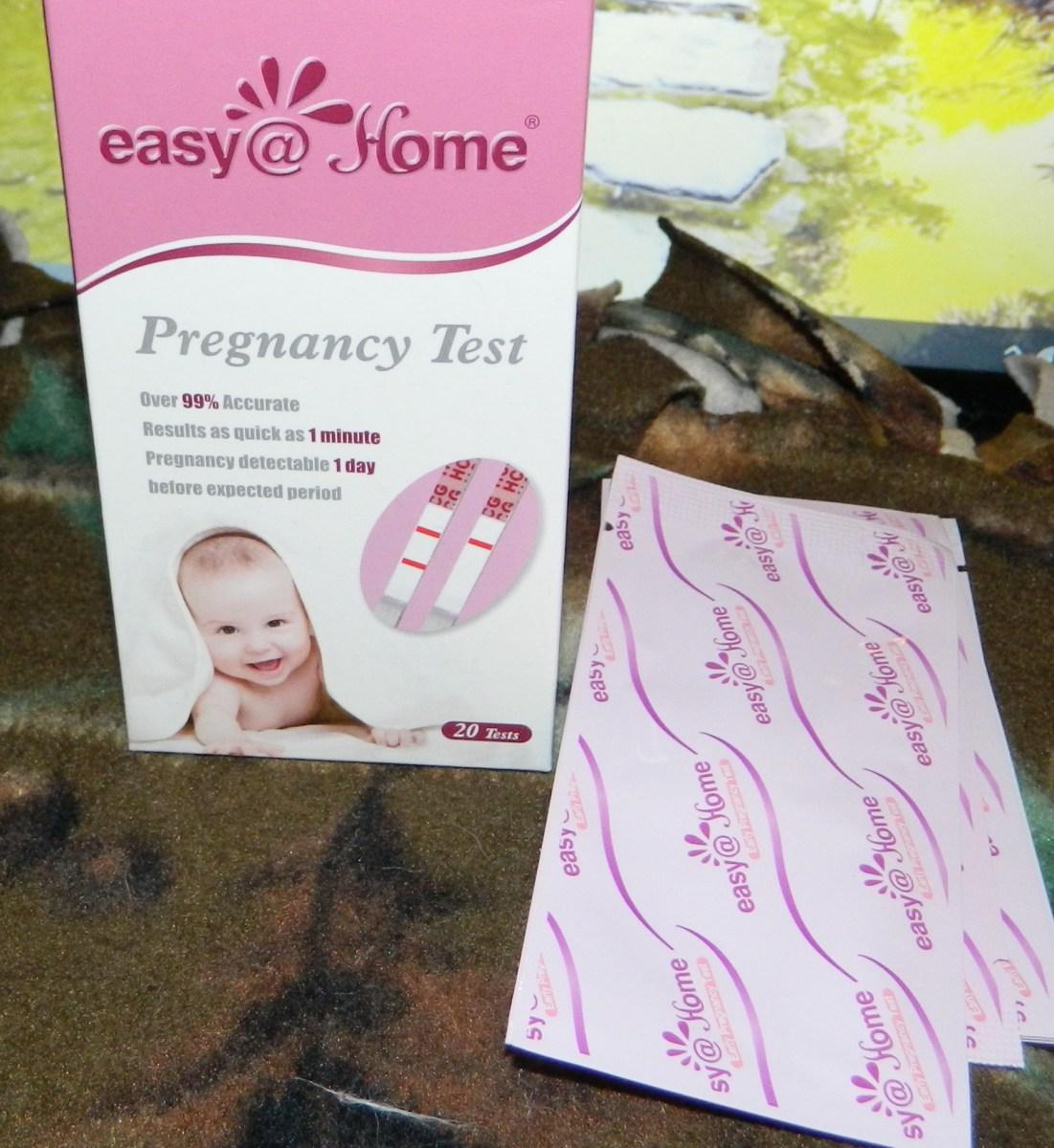 Pregnancy (HCG) Urine Test Strips