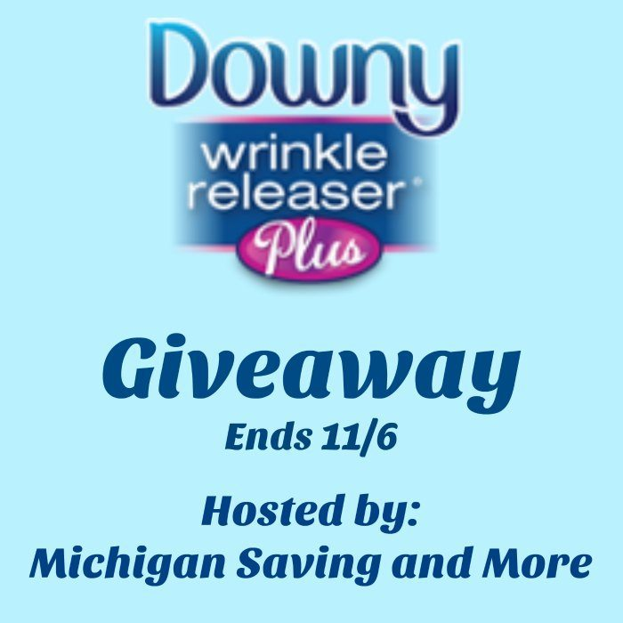 Downy Wrinkle Releaser Plus Giveaway 2016
