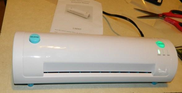 Home thermal laminator