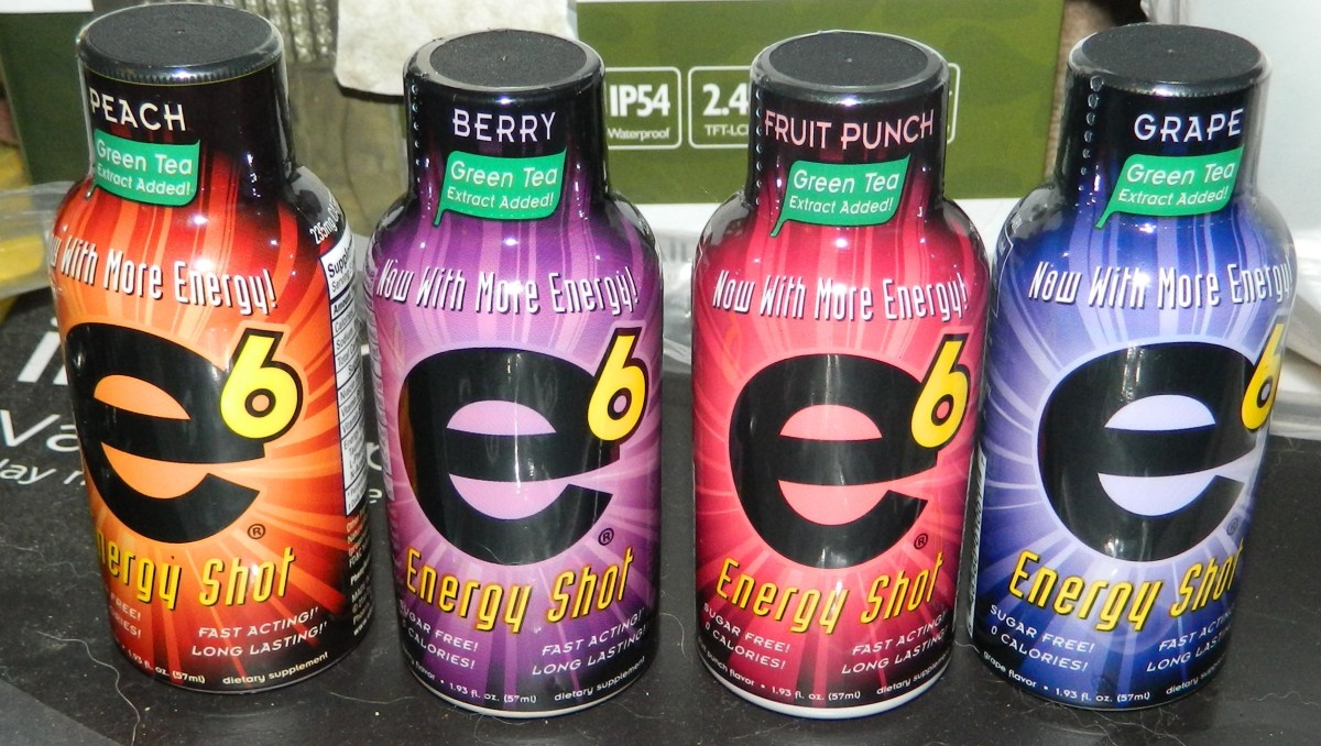 E6 6-Hour Energy Shot