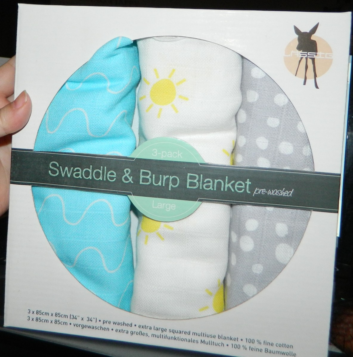 Swaddle Burp Blankets