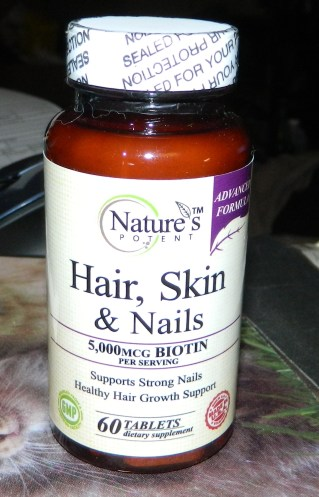 Nature's Potent - Hair, Skin and Nails Vitamins