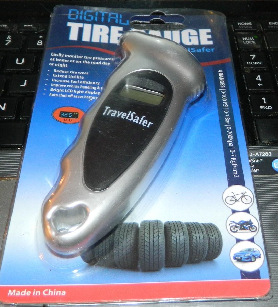 Home Digital Tire Gauge