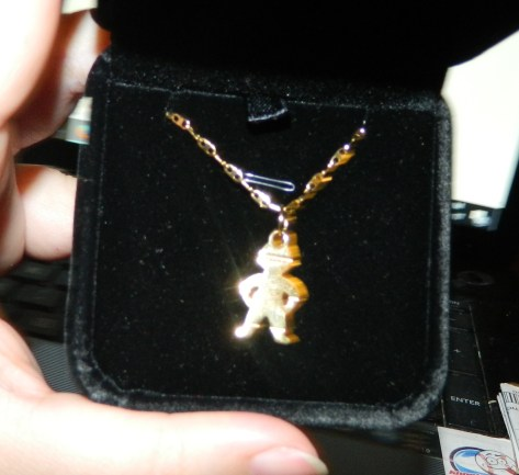 Boy Pendant Necklace