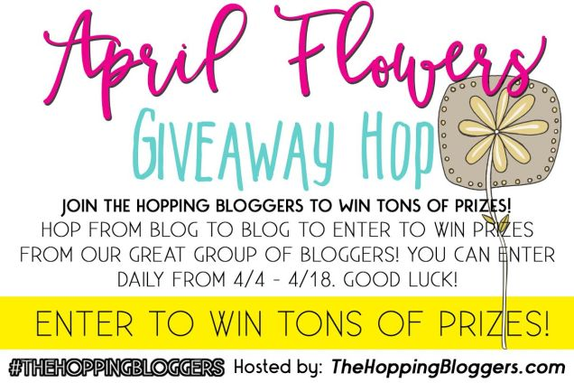 April Flowers Giveaway Hop