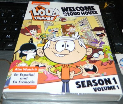 Welcome to the Loud House DVD