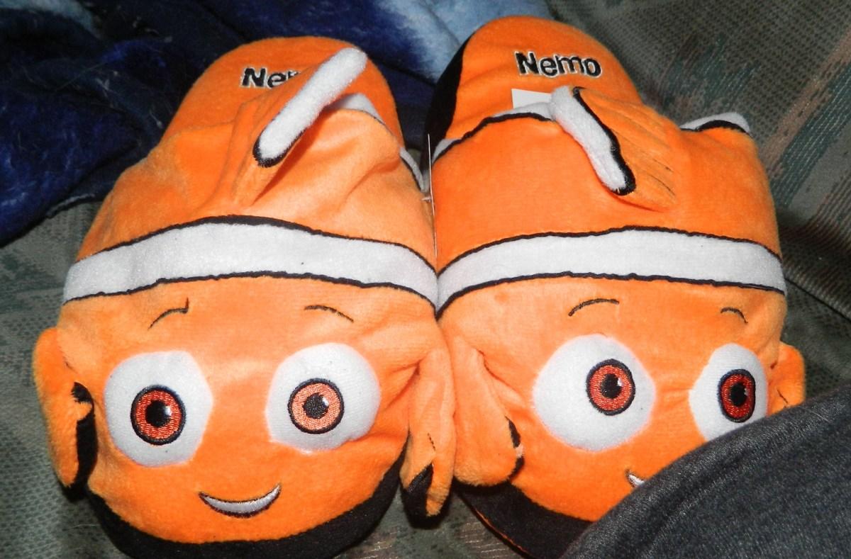Nemo Stompeez Slippers