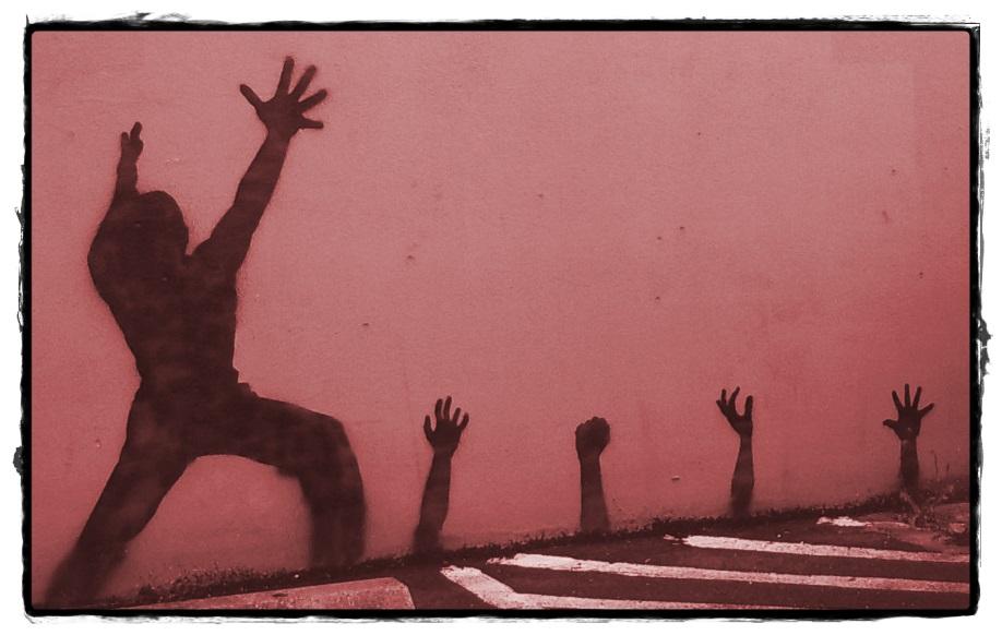 Distressed Hands