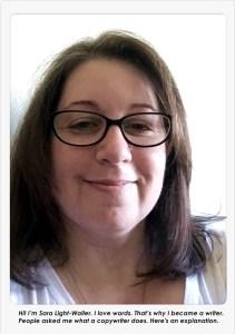 Sara Light-Waller, freelance writer