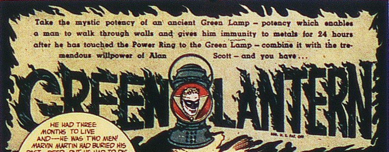 Green Lantern, Golden Age, Superhero, Alan Scott