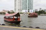 Hotel shuttle boats.