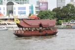 Mandarin Oriental boat.