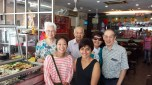 Aunty Emme, Uncle Denis, two of their friends, me and another friend Karen.