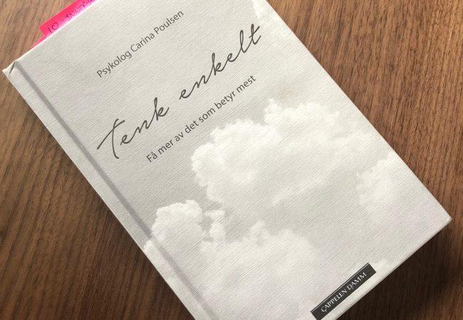 Ingefær episode 111: Live bokbad av Carina Poulsen – Tenk Enkelt