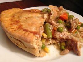 Spicy Chicken Pot Pie