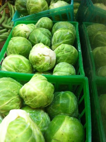 I love you Brussels Sprouts. See you soon.