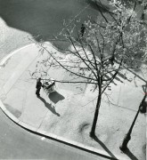 Man Pushing Pram, Paris 1945-52