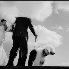 TAIWAN. Taipei. 2000. On their wedding date, the bride and groom decide that their dog should participate in the ceremony, which takes place in a park in the out-skirts of Taipei.