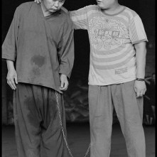 TAIWAN. Kaohsiung. 1998. Lung-Fa Tang Temple. Mental patients.
