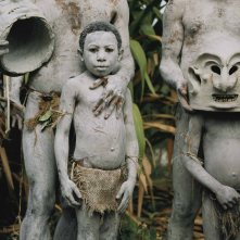 Young Asaro mudmen at the annual tribal sing-sing at Garoka.